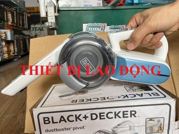 Máy hút bụi cầm tay dùng pin 10.8V Black & Decker PV1020L-B1