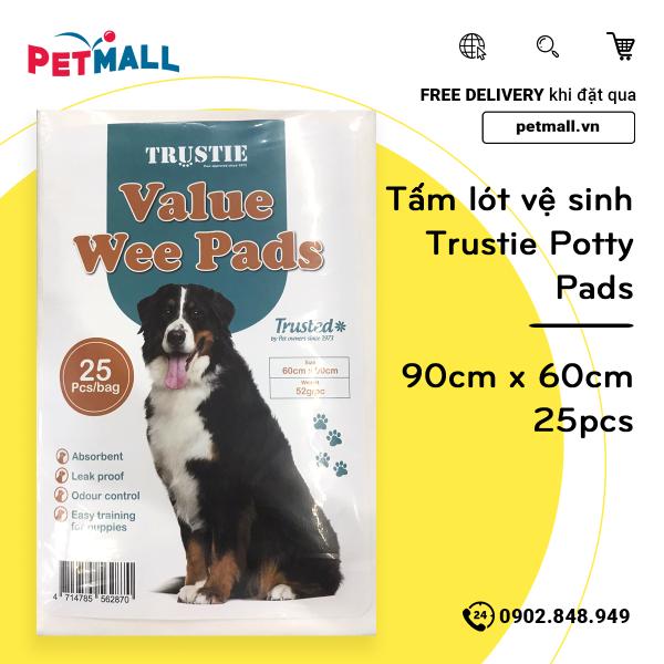 Tấm lót vệ sinh Trustie Potty Pads 90cm x 60cm - 25pcs