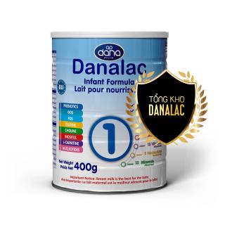 Sữa Danalac Formula dành cho trẻ từ 0 - 6 tháng 400g DF01400 thumbnail