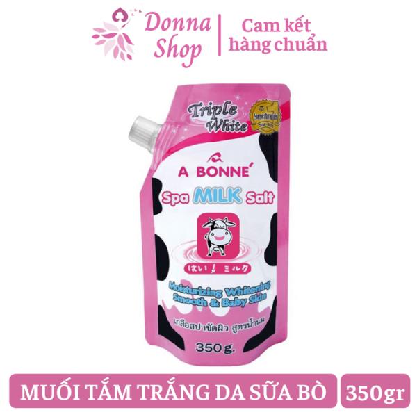 Muối Tắm Sữa Bò Tẩy Tế Bào Chết A BONNE SPA MILK SALT 350gr giá rẻ