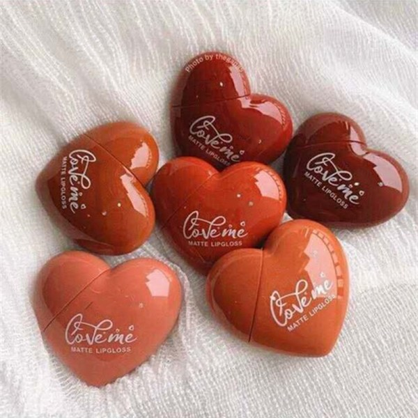 (SKTT) Son Kem Tint Kiss Beauty Trái Tim For Valentine