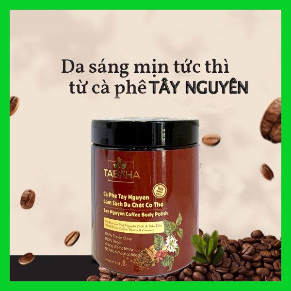 Cà phê Tây Nguyên làm sạch da chết Tabaha 250ml