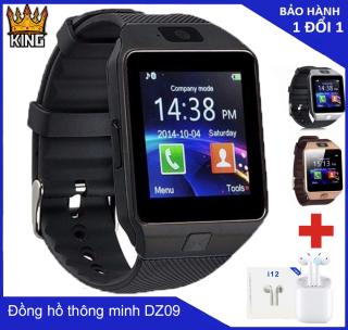 Đồng hồ thông minh cảm ứng giá rẻ Dz09 thiết kế thời trang thanh lịch-khe lắp sim- có hỗ trợ gọi điện nhắn tin (nhiều màu) thumbnail