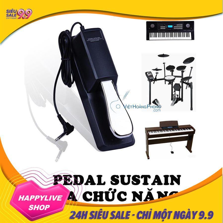 Pedal đa năng Cherub WTB-005 - Bàn đạp tạo tiếng vang Sustain Keyboard Pedal cho đàn Organ, Piano,...- HappyLive Shop
