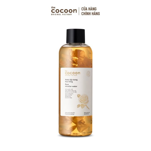 Nước Tẩy Trang Hoa Hồng Cocoon 500ml