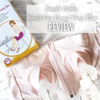 Áo hút sữa rãnh tay cao cấp Simple Wishes thumbnail