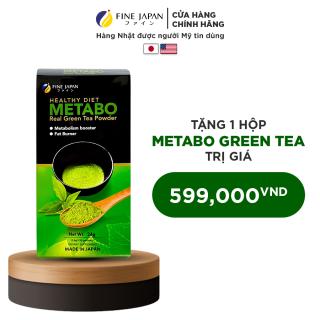 Combo 2 Hộp Trà Xanh Nhật Bản Hỗ Trợ Giảm Cân Metabo Green Tea Fine Japan 2 hộp x 30 gói x 8g thumbnail