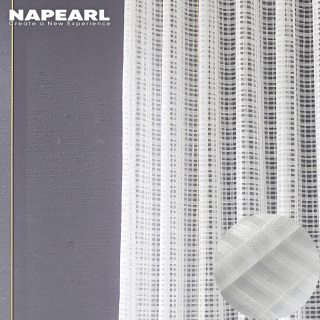 Napearl Rèm cửa màn che vải mỏng với phong cách đơn giản hiện đại cho ngôi nhà mới của bạn vào mùa hè có kích thước 100 150 200x130 210 260cm, giá tốt - INTL thumbnail