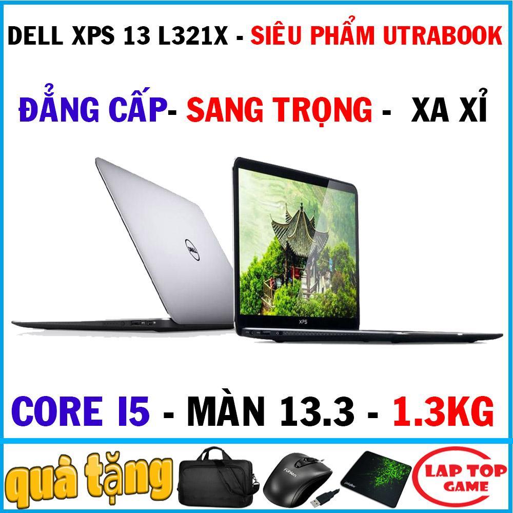 Siêu Tiết Kiệm Khi Mua Tuyệt Phẩm Utrabook Sang Trọng đẳng Cấp Dell XPS 13 L321X Core I5 2467M/Ram 4G/SSD 128G/Siêu Nhẹ 1.3KG/Phím Sáng/Màn Fuut Viền/quá đẳng Cấp