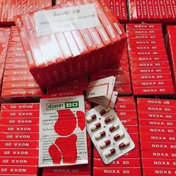 Bộ 12 hộp viên xương khớp Noxa 20 Thái Lan