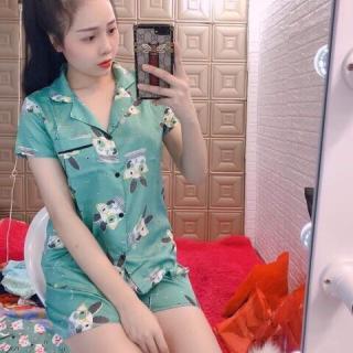[ Nguyen Hang LUxury ] (xả kho) Bộ Đồ Mặc Nhà Pijama Nữ -Vải Kate - Kèm Ảnh Thật.2020 - Dưới 56kg XDTJ thumbnail