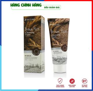 [Hàng Nhập Khẩu Hàn Quốc] Sữa rửa mặt trắng da và làm sạch chiết xuất từ lúa mạch 3W Clinic Hàn Quốc 100ml thumbnail