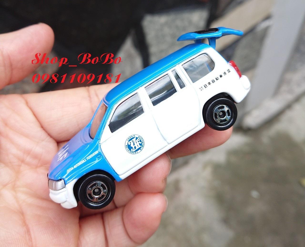 Xe Mô Hình Tomica - Xe Toyota JAF Mở được Cốp Sau Giá Tốt Không Nên Bỏ Qua