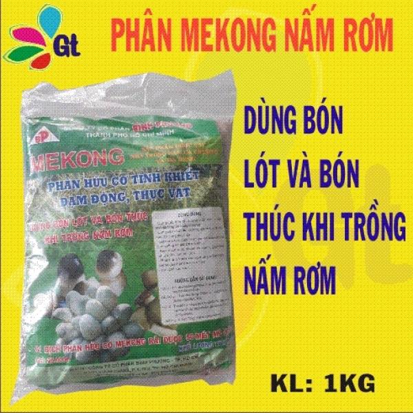 (Shop Gt19) 10kg Phân Mekong Nấm rơm - KL: 1Kg