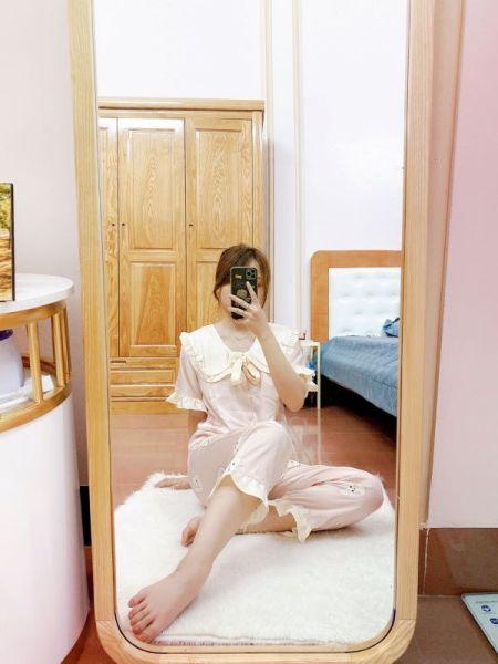 Gương soi toàn thân khung gô,Gương soi khung gô cao cấp kích thước 50x160,60x170cm guonghoangkim giá rẻ
