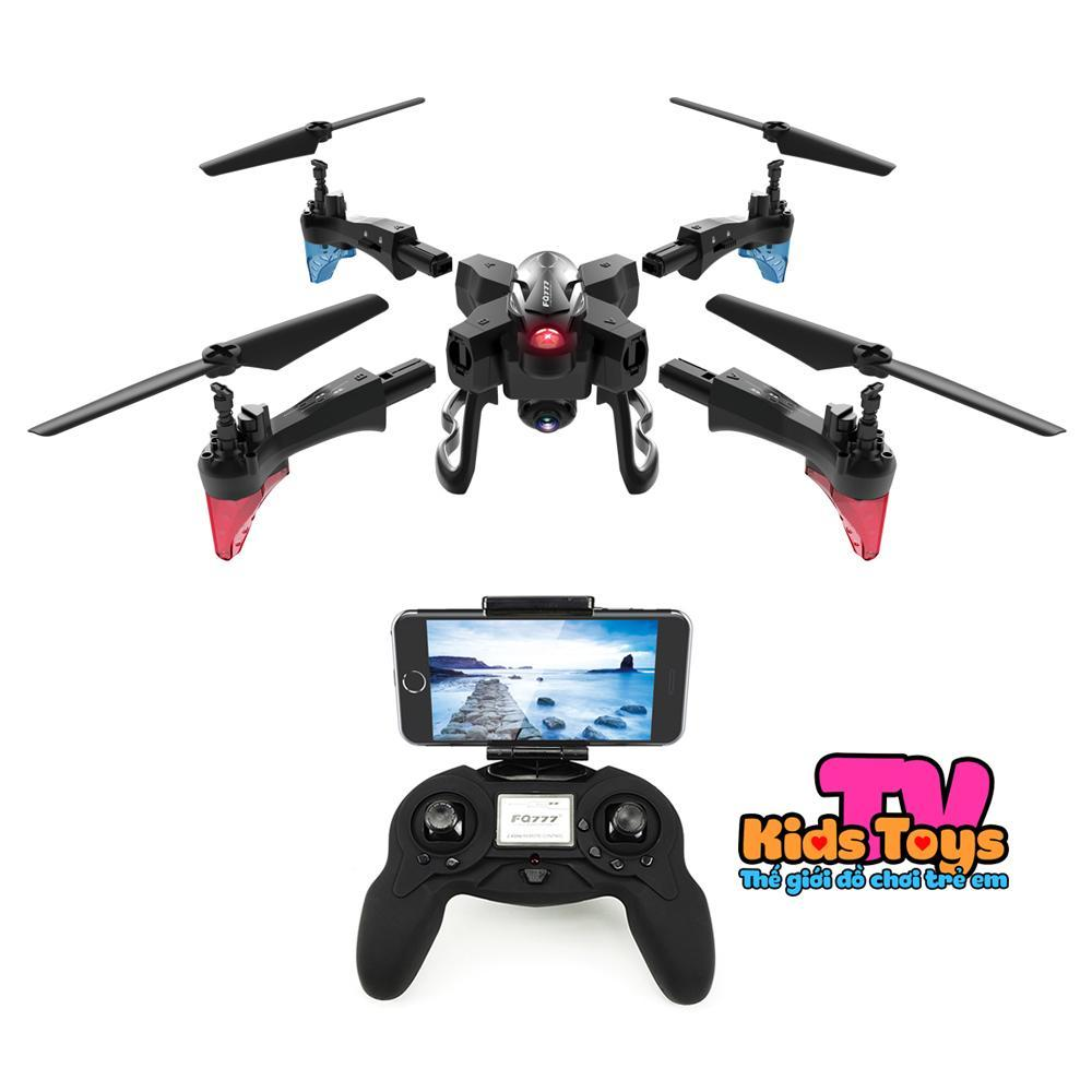Offer Khuyến Mãi Flycam Giá Rẻ - Máy Bay Điều Khiển Từ Xa Cỡ Lớn -Best Deal 2019 Newest FQ777-FQ20 - Kết Nối Wifi 2.4 Ghz Quay Phim Chụp Ảnh Full Hd