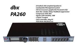 [Trả góp 0%]Thiết bị xử lí âm thanh DIVERACK DBX PA-260 thumbnail