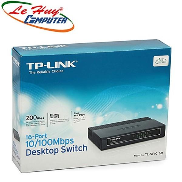 Bảng giá Switch Chia Tín Hiệu Tp-Link Sf1016D-10/100Mbps 16Port Phong Vũ