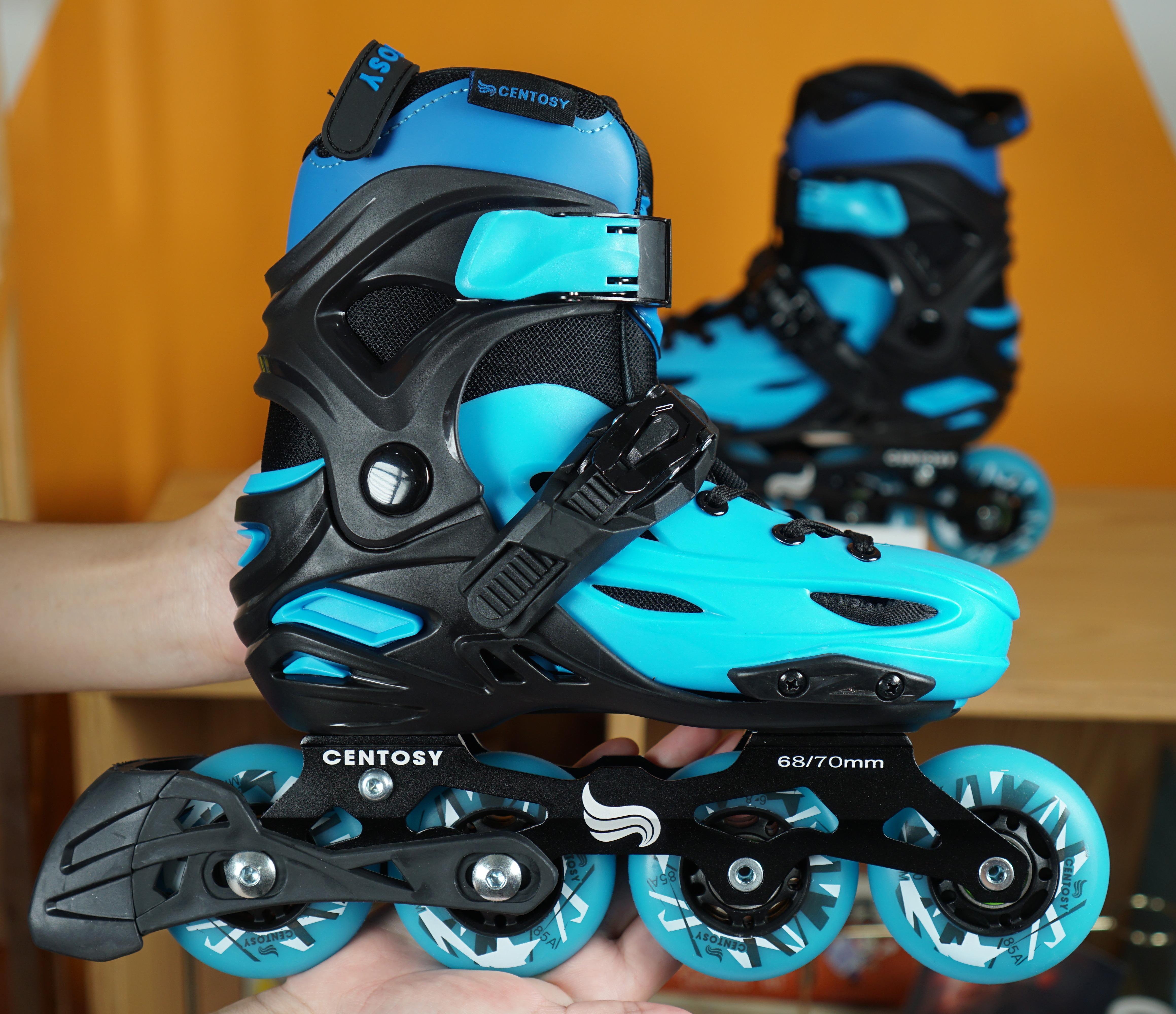 Giá Quá Tốt Để Có Giày Patin Centosy Kid Pro 2 ( Tặng Túi đựng Giày + Khóa Học Miễn Phí 5 Buổi + Bảo Hiểm Chân Tay + Mũ Bảo Hiểm Xịn )