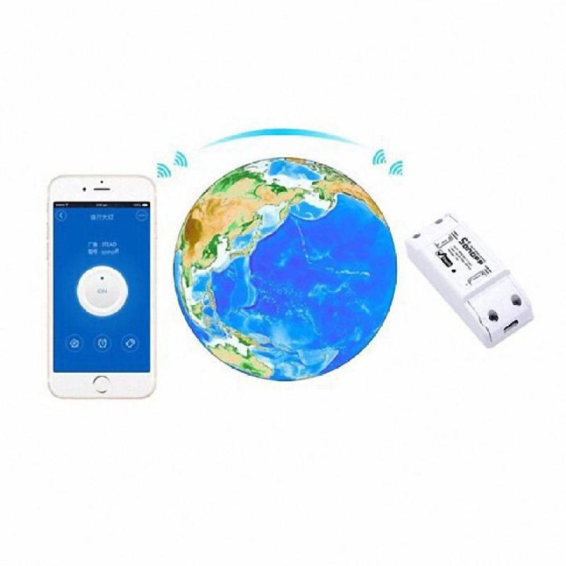 [Giảm giá hôm nay ] Tên sản phẩm : Thiết bị điều khiển thông minh (Sonoff  Basic Wifi smart Switch).