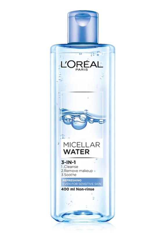 [CHÍNH HÃNG] Nước Tẩy Trang LOreal Micellar Water 3 In 1 Refreshing Tươi Mát ZVL801 nhập khẩu