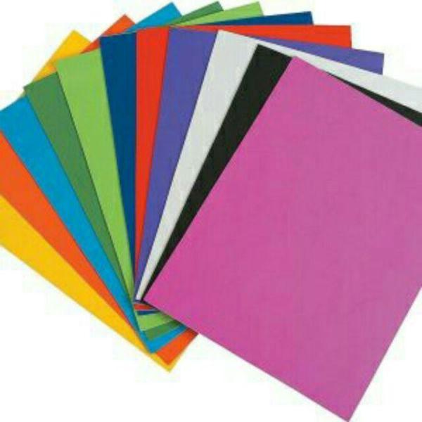 10 tờ Giấy A4 đủ màu định lượng 220gsm