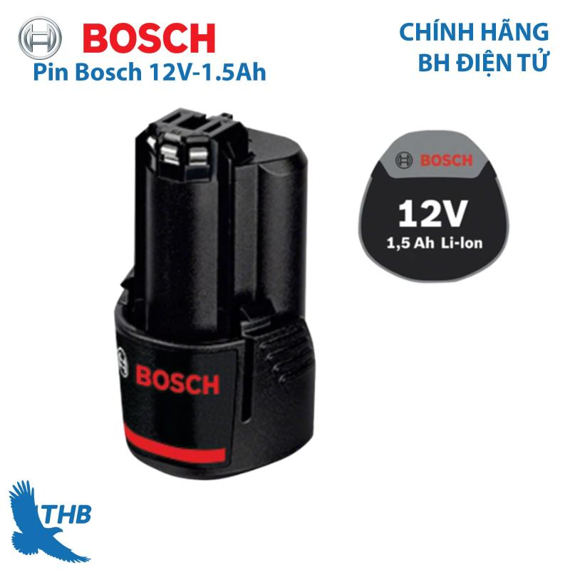Pin Bosch 12V-1.5Ah dành cho dụng cụ cầm tay