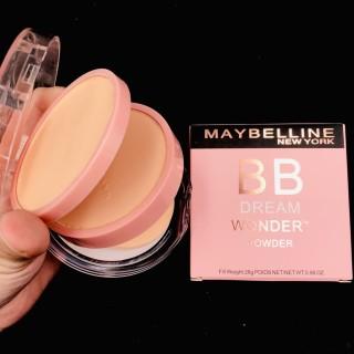 Phấn phủ siêu mịn kìm dầu 2 tầng dạng nén Maybelline Dream Wonder powder thumbnail