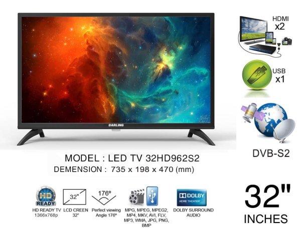 Bảng giá TV LED DARLING 32HD962S2
