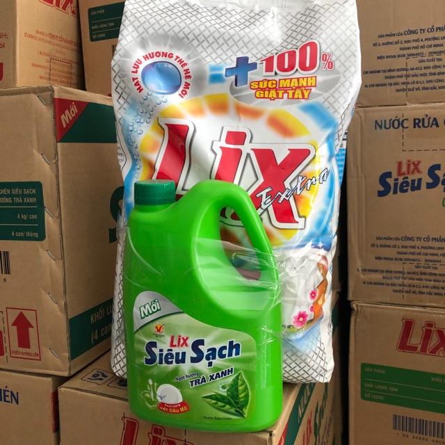 Bột Giặt Extra 6kg -Tặng Kèm 1 Can Nước Rửa Chén 1,5kg Giá Hot Siêu Giảm tại Lazada