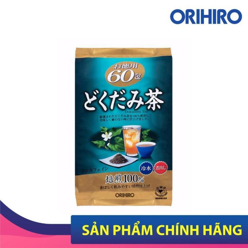 Trà thải độc diếp cá Dokudami Orihiro của Nhật Bản giúp thải độc, đẹp da 60 gói/túi giá rẻ