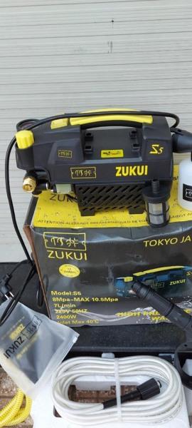 MÁY RỬA XE CAO ÁP ZUKUI S5. dòng có chỉnh áp lục nước. Giúp xịt rửa máy lạnh, điều hòa