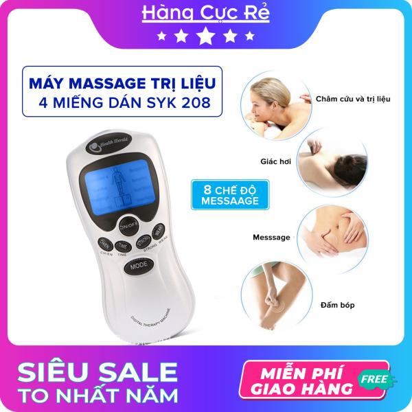 Máy massage trị liệu 4 miếng dán 🔴Freeship🔴 Máy xung điện cầm tay mini - Shop Hàng Cực Rẻ nhập khẩu