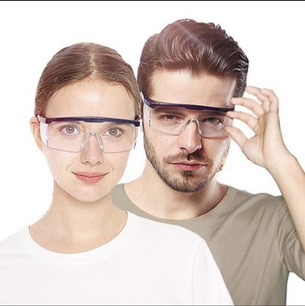Giá bán Kính chống covid , kính chống giọt bắn , kính bảo hộ mắt,kính phòng dịch covid, trong suốt , ảnh thật , bảo đảm giao đúng hàng