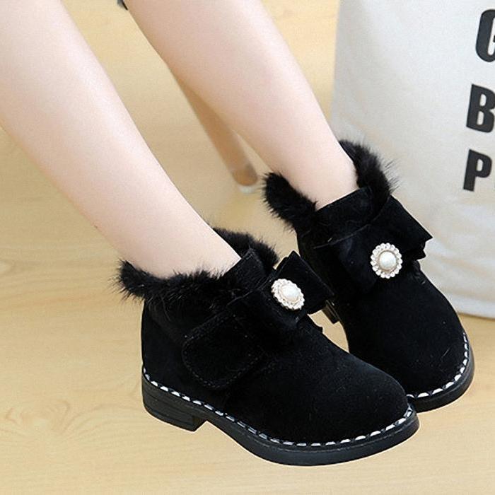 Giá bán Giày Boot  cao cấp  cho bé gái phong cách hàn quốc - BB09