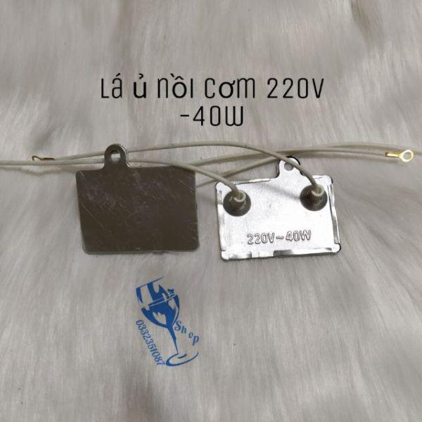 Lá ủ - tấm nhiệt nồi cơm điện dân dụng 220v/40w