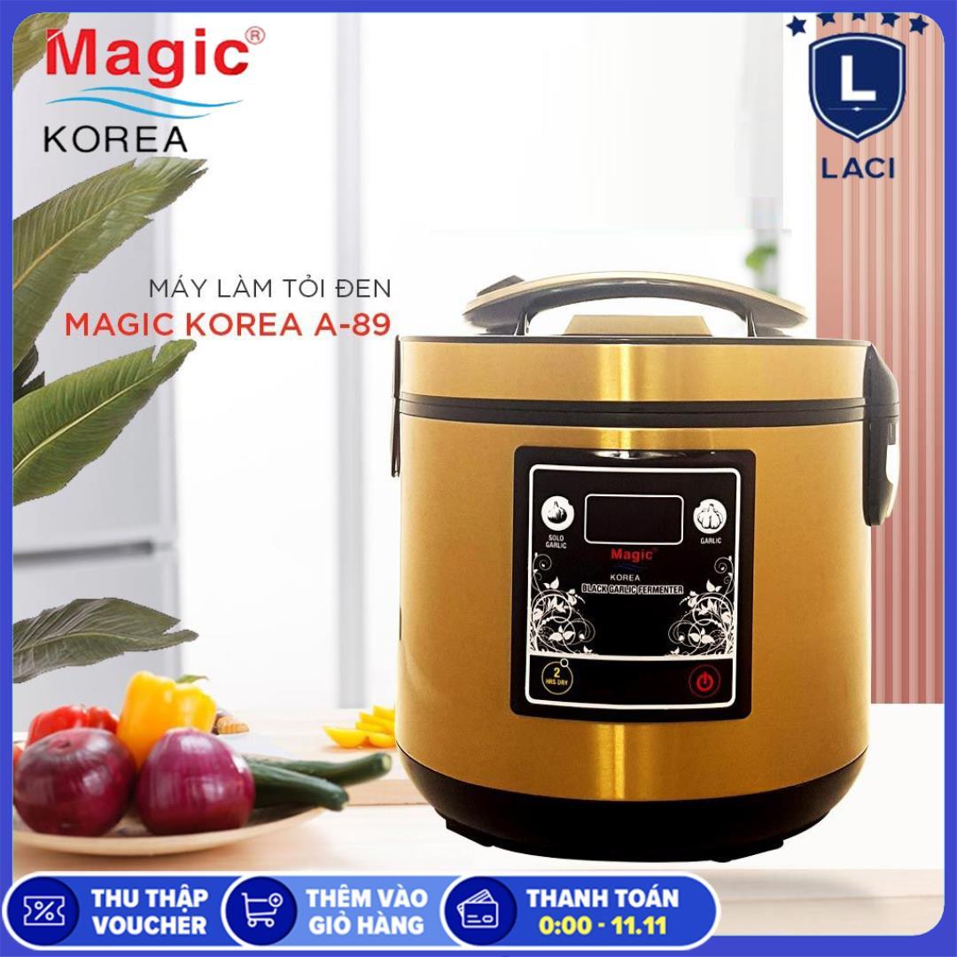 Máy làm tỏi đen MAGIC KOREA A89 | Dung Tích 5L | Làm 1 Mẻ 1.8kg | Bảo Hành Chính Hãng 12 Tháng