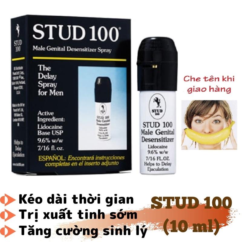 Chai xịt STUD 100 tăng cường sinh lý nam cao cấp (10ml) - hàng chính hãng