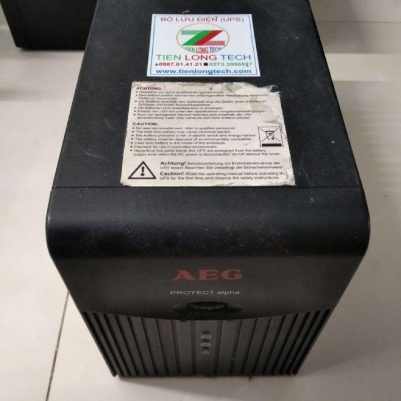 Bảng giá BỘ LƯU ĐIỆN (UPS) AEG PROTECT ALPHA 1200 (1200VA-600W) Phong Vũ