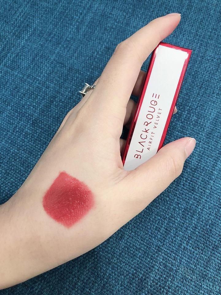 Son Black Rouge Airfit Velvet  màu A18 tốt nhất