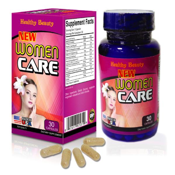 Healthy Beauty HB NEW WOMEN CARE  -  Thực Phẩm Chức Năng - Hỗ Trợ Sinh Lý Nam Nữ