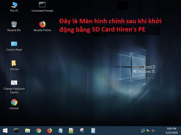 Bảng giá Thẻ nhớ khởi động cứu hộ máy tính Hirens Boot PE Phong Vũ