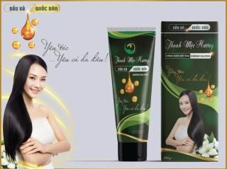 Dầu xả Thanh mộc hương không silicon phục hồi tóc hư tổn 200g thumbnail