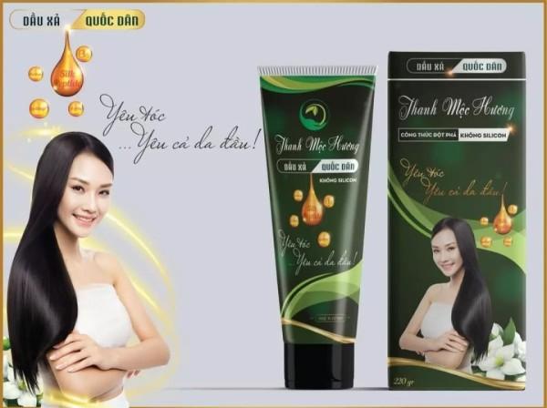 Dầu xả Thanh mộc hương không silicon phục hồi tóc hư tổn 200g