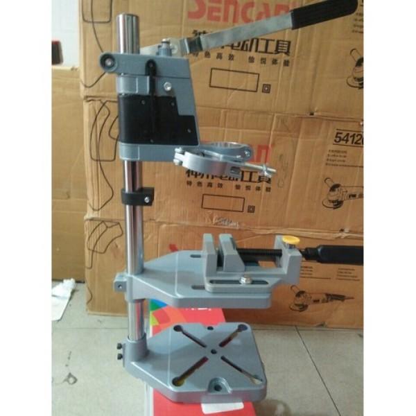 Bảng giá AM6102B - Chân đế máy khoan có kèm thêm Ê tô kẹp