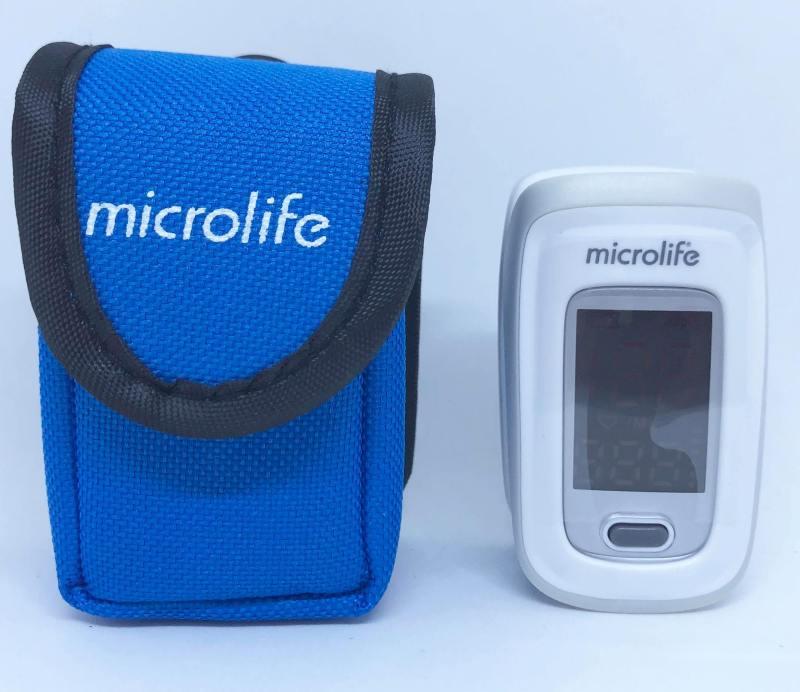 Máy SPO2 OXY200 chính hãng Microlife Thụy Sĩ dùng để đo nhịp tim và nồng độ oxy trong máu bán chạy