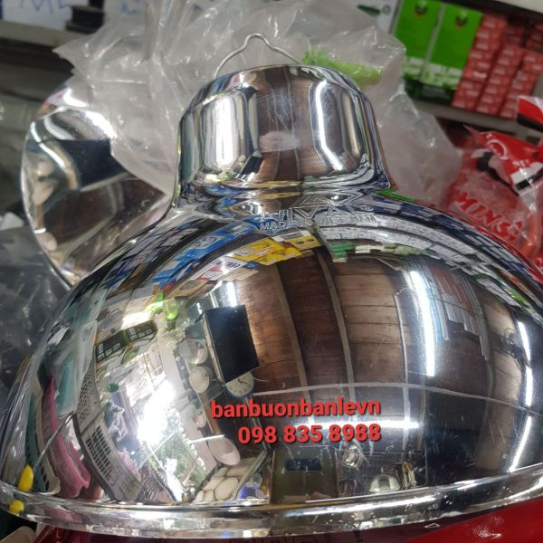 Bảng giá Chao đèn nhựa mạ crom bạc phản quang 30cm Nival