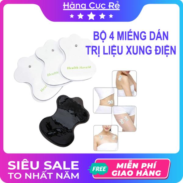 Bộ 4 miếng dán dùng cho máy trị liệu - Shop Hàng Cực Rẻ
