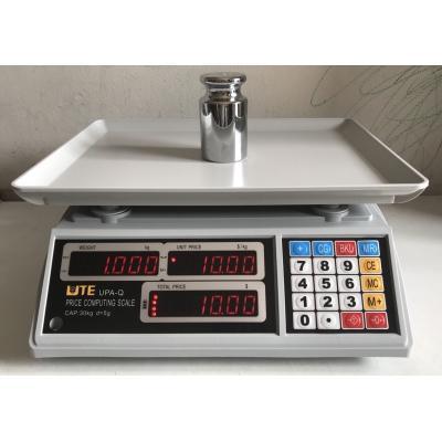 Cân tính tiền UTE 30kg/5g ( Bảo Hành 12 Tháng )