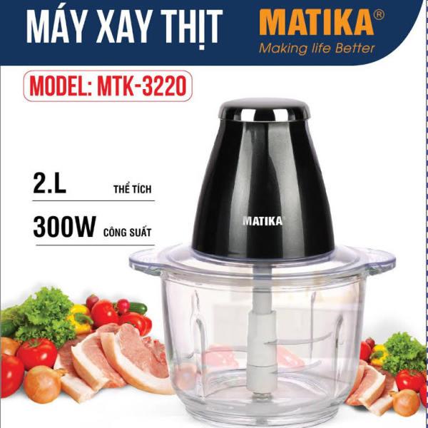 Máy xay thịt Matika MTK3220 dung tích 2 lít -300W